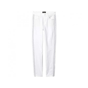 Women 7 For All Mankind The Ankle Skinny in Clean White Clean White SMDGS696